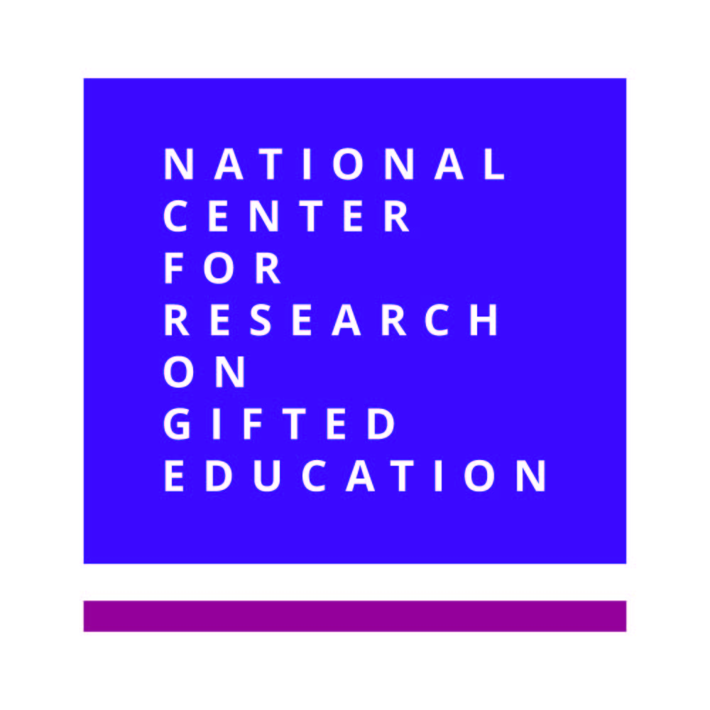 Graphic of National Center for Research on Gifted Education