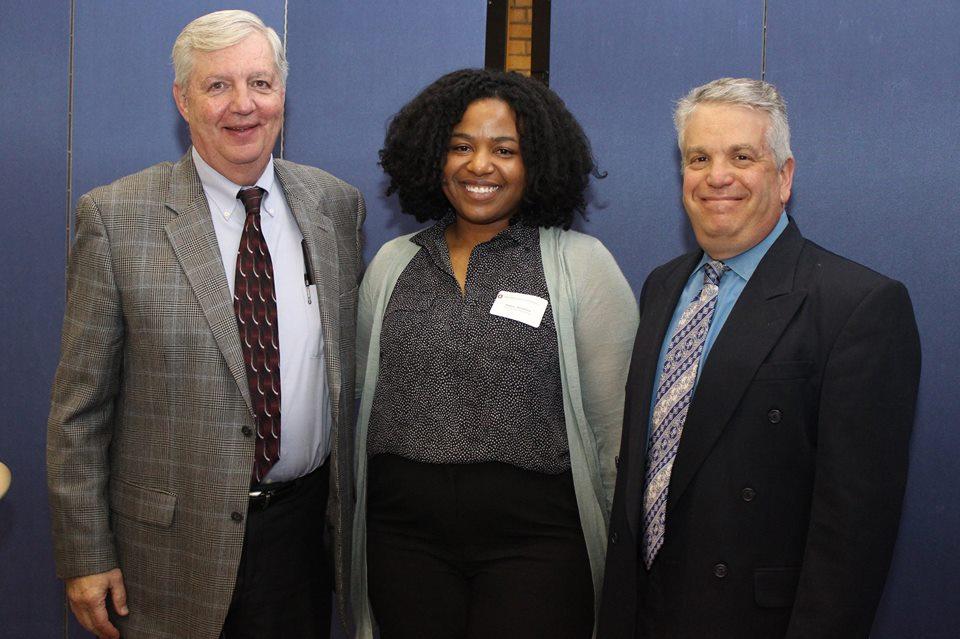 Rashea Hamilton receives dissertation award