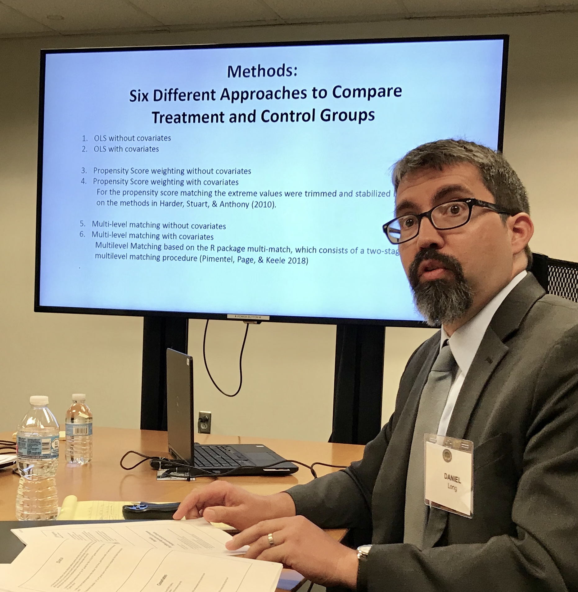 Presentation at NCRGE advisory board meeting in DC