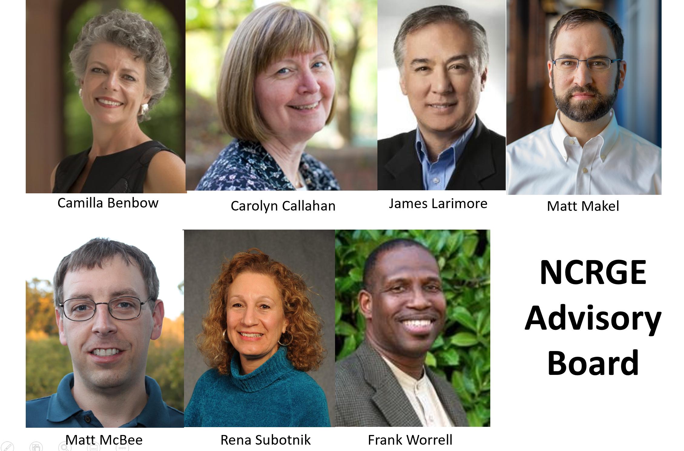 Photo of NCRGE Advisory Board